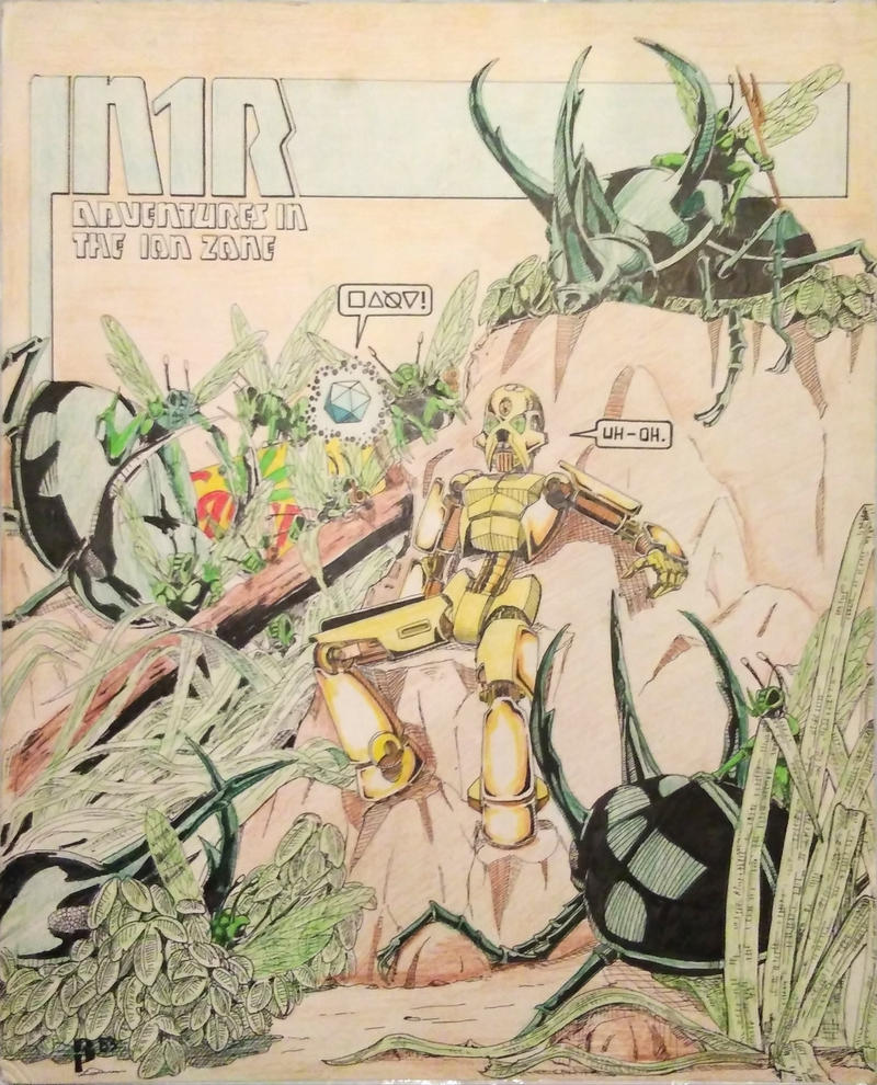 Old art: N1R circa 1983 by ARMORMAN