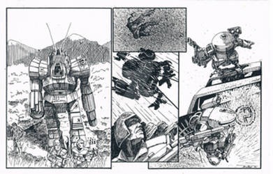 Battletech MINIMECH COMIC 1989