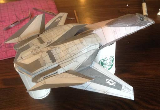 FA-37 Talon 98% complete back