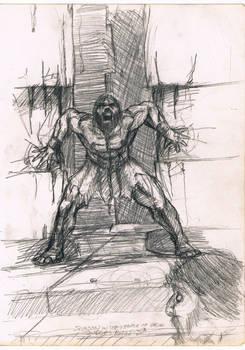 Samson at the Temple of Dagon