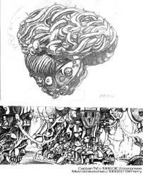 Metroid Concept Art