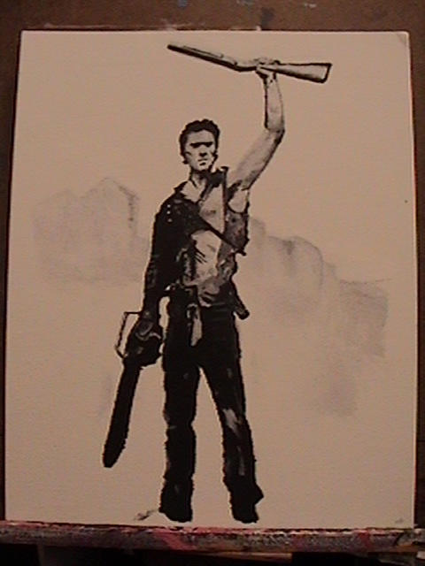 Bruce Campbell as Ash by transpar3nt