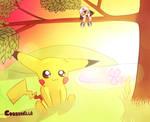 Pikachu - Mini Ash