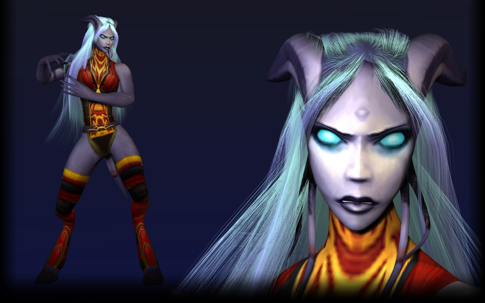 WoW hottest draenei exposed pics