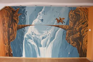 Wall ala Golden Rider by Artnes80