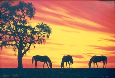 Horses by Artnes80