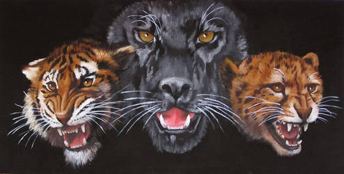 Wild cats by Artnes80