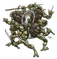 Teenage Mutant Ninja Turtles by DimiMacheras