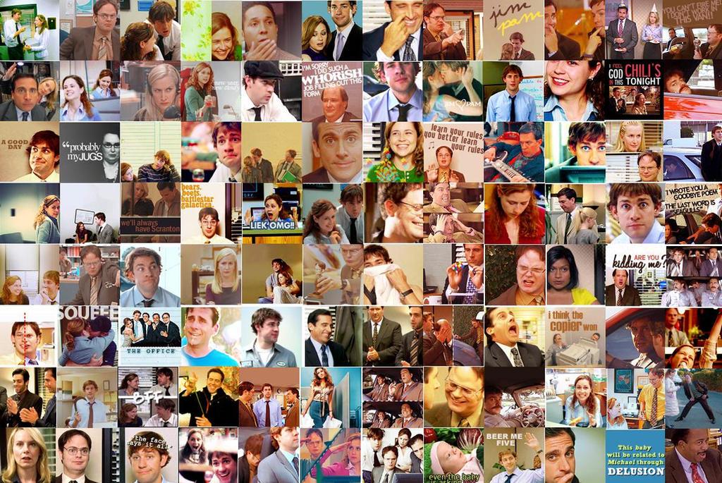 The Office Icons Wallpaper By Solemnlyswear22