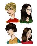 The Pevensies