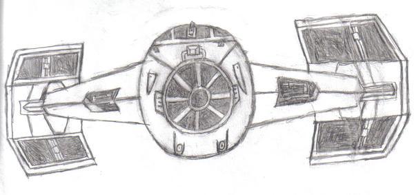 Darth Vader's TIE Fighter by xivkaran