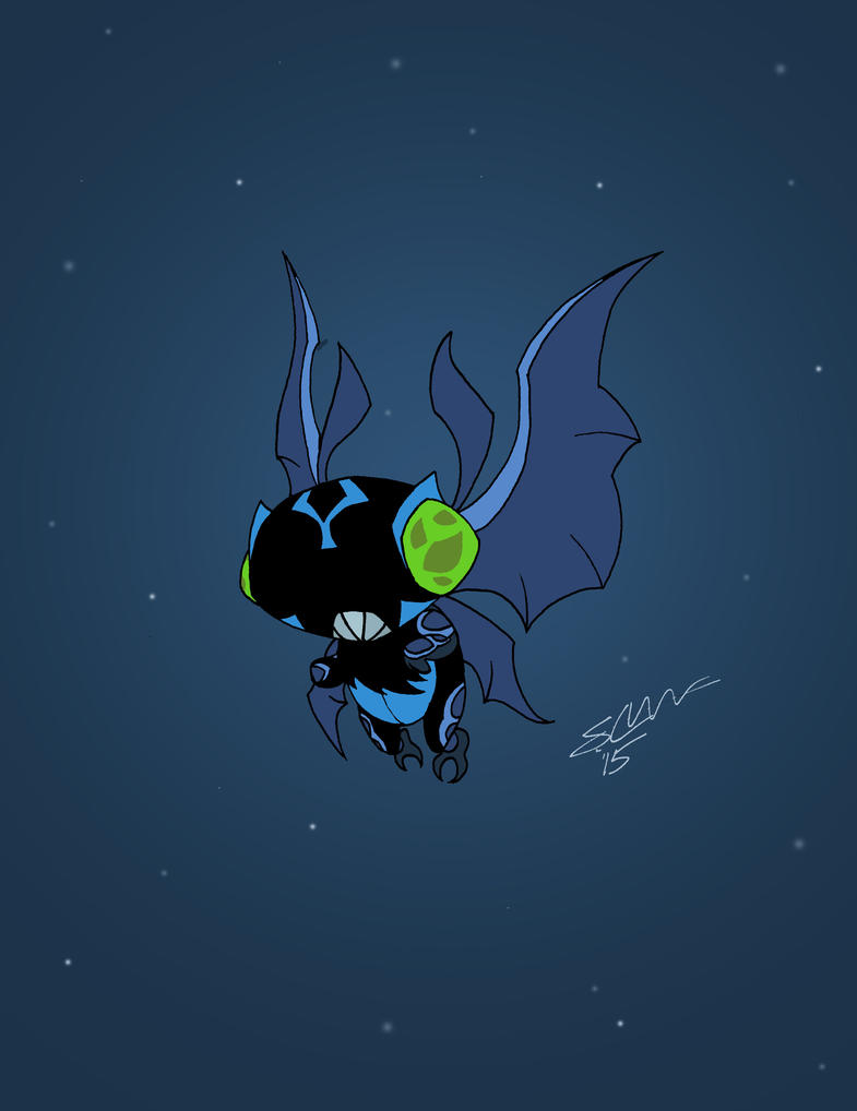 Baby Necrofriggian Omniverse Style by TheSb13