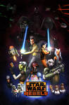 Star Wars Rebels Season 2: Retro Poster