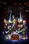 Star Wars Rebels Season 2: Retro Poster