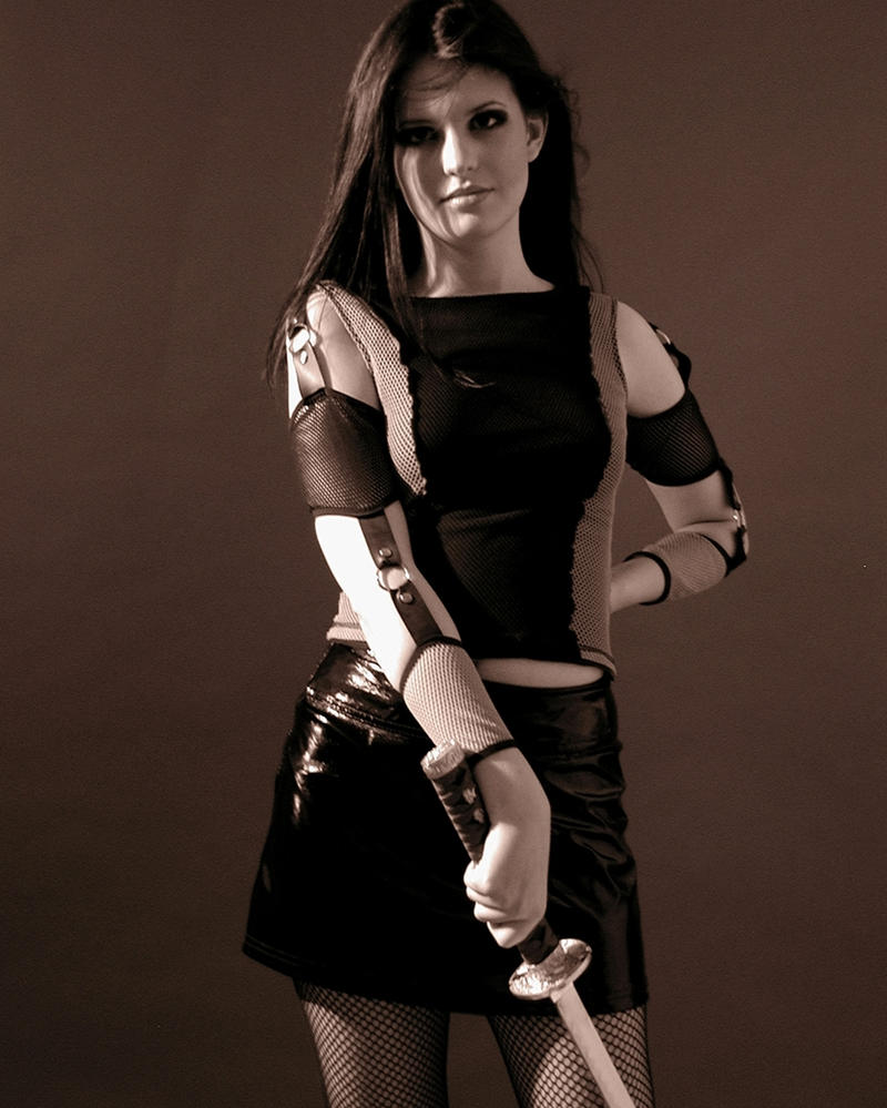 Girl with Sword Stock 11 by kristyvictoria