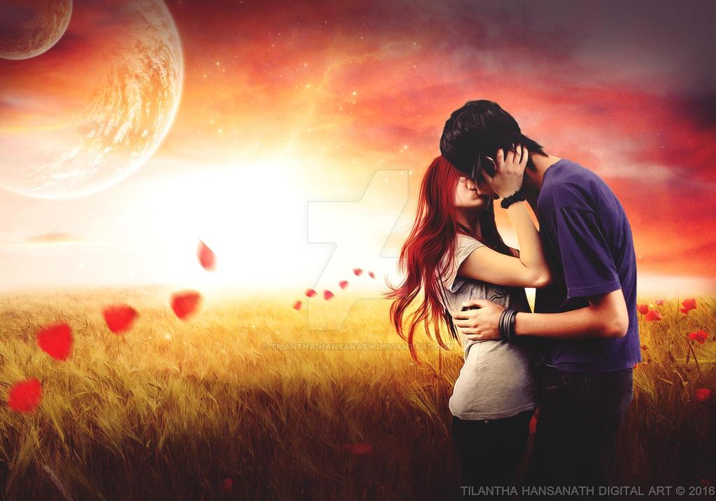 Fall in Love by Tilantha-hansanath
