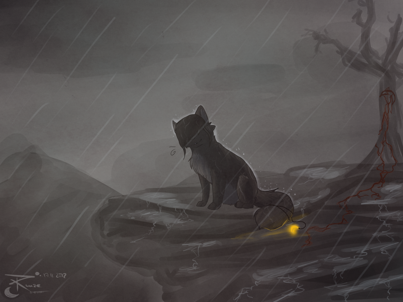 rain the light by Rijaal