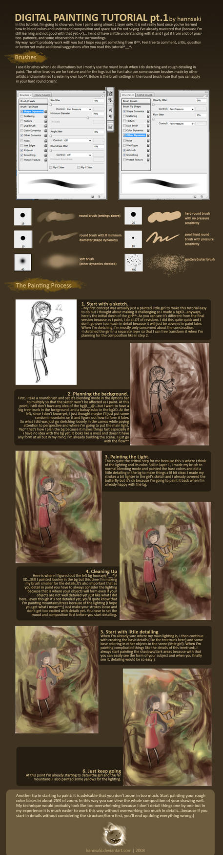 digital painting tutorial pt 1 by hannsaki on deviantart