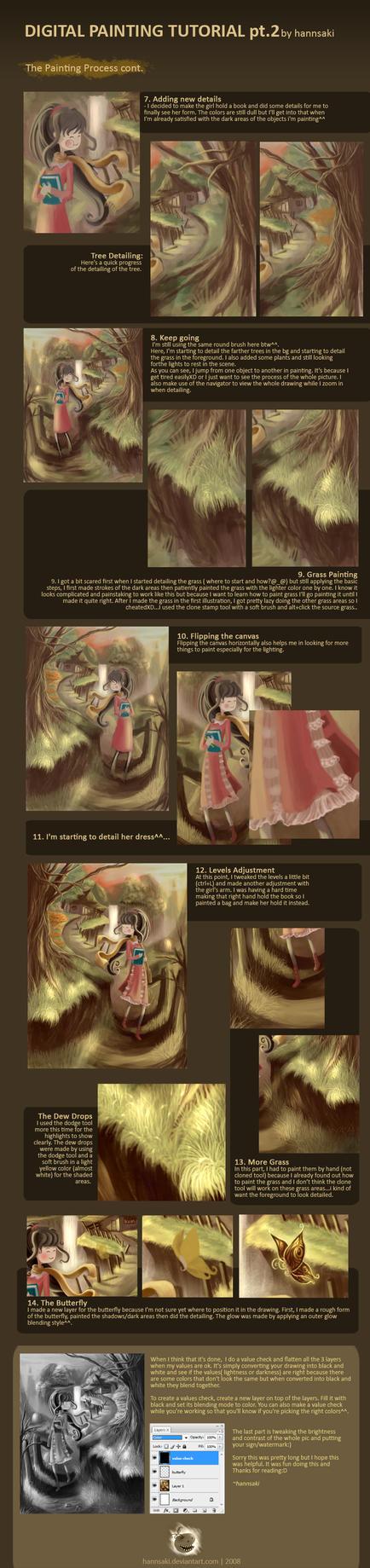 digital painting tutorial pt.2 by hannsaki