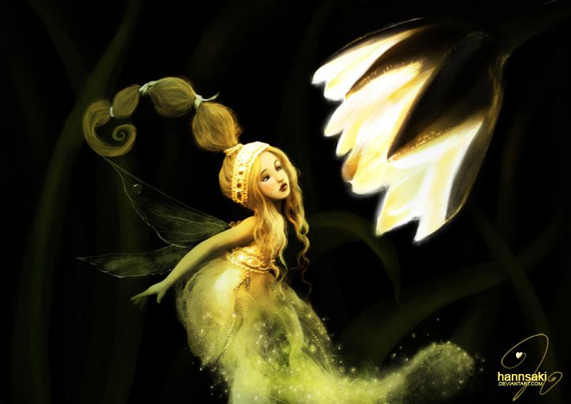the light fairy by hannsaki