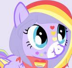 rainbow power Grape Pudding