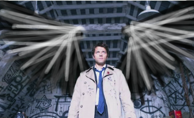 misha collins computer wallpaper
