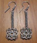 Helm chain earrings