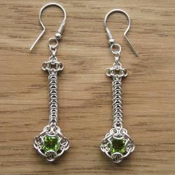 Peridot earrings by rogaty