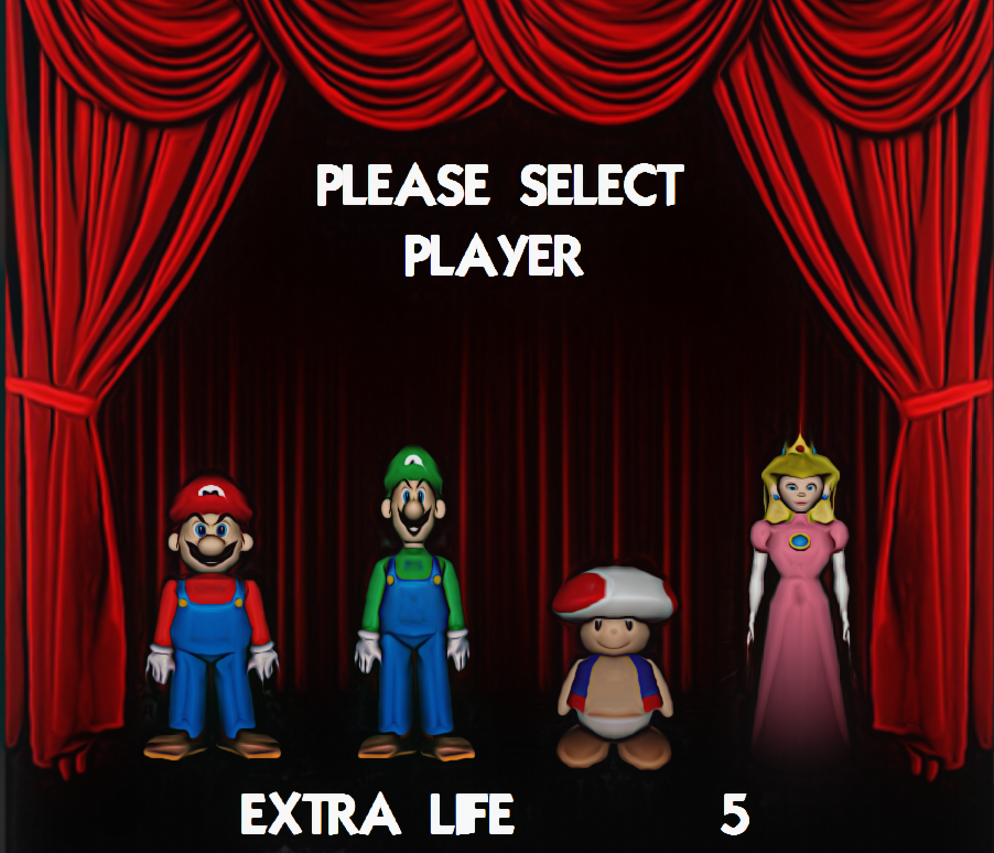 Super Mario Bros 2 Character Select By Beerdogfood On Deviantart