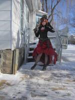 Steampunk Vampire Hunter 2 by Fluffybunny29stock