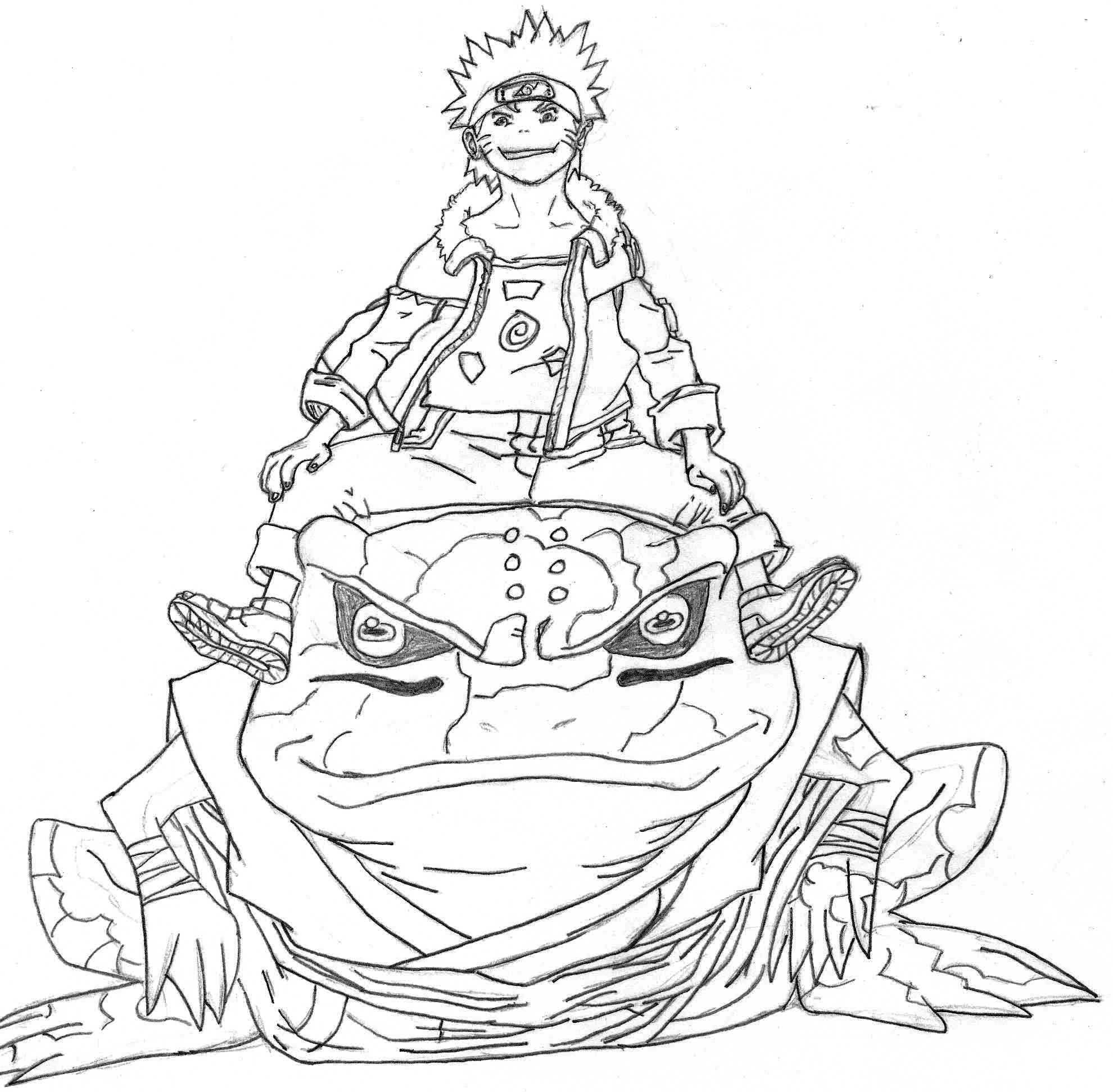 Wonderful Wallpaper Naruto Sketch - naruto_and_gamabunta_by_lukthebest-d4rxlky  Collection.jpg