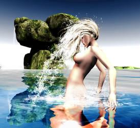 Waterfall by Midniyt