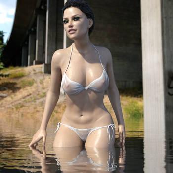 Bikini Girl by Midniyt