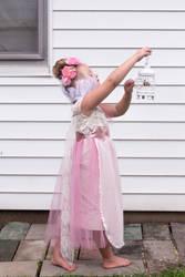 Pink dress 3 by HigherSeeking