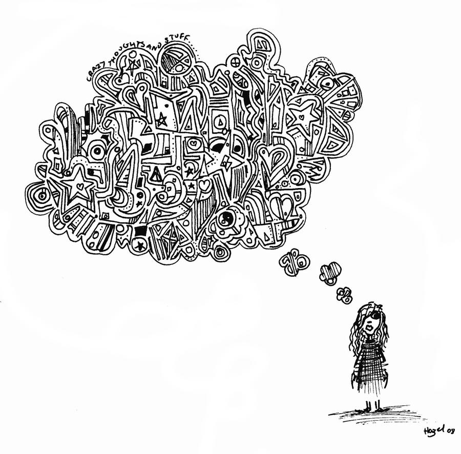 'crazy thoughts and stuff'