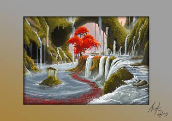 Lagoon - Pixel Art