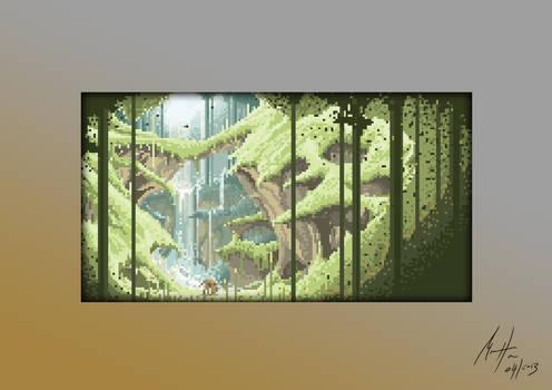 Forest - Pixel Art