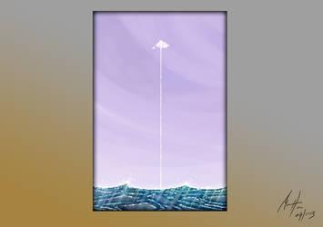 Lonely Cloud - Pixel Art