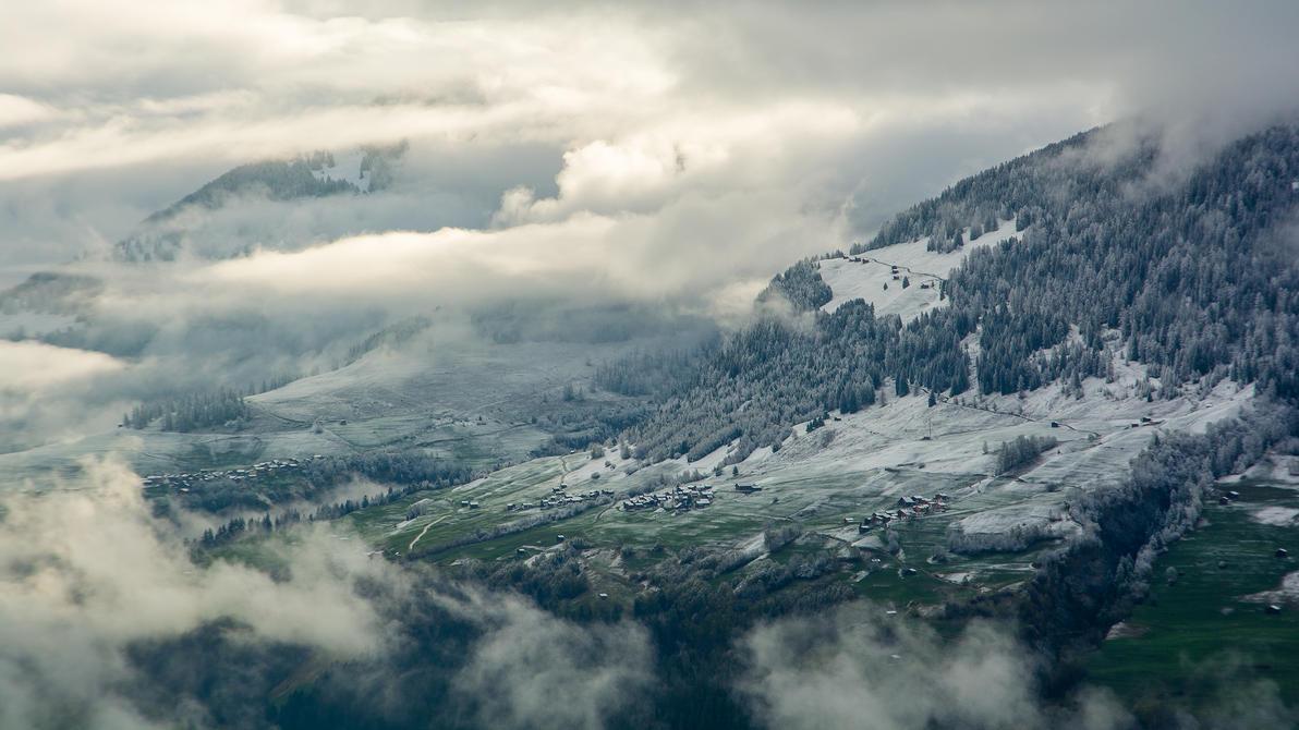 Winter's last breath by Jufington