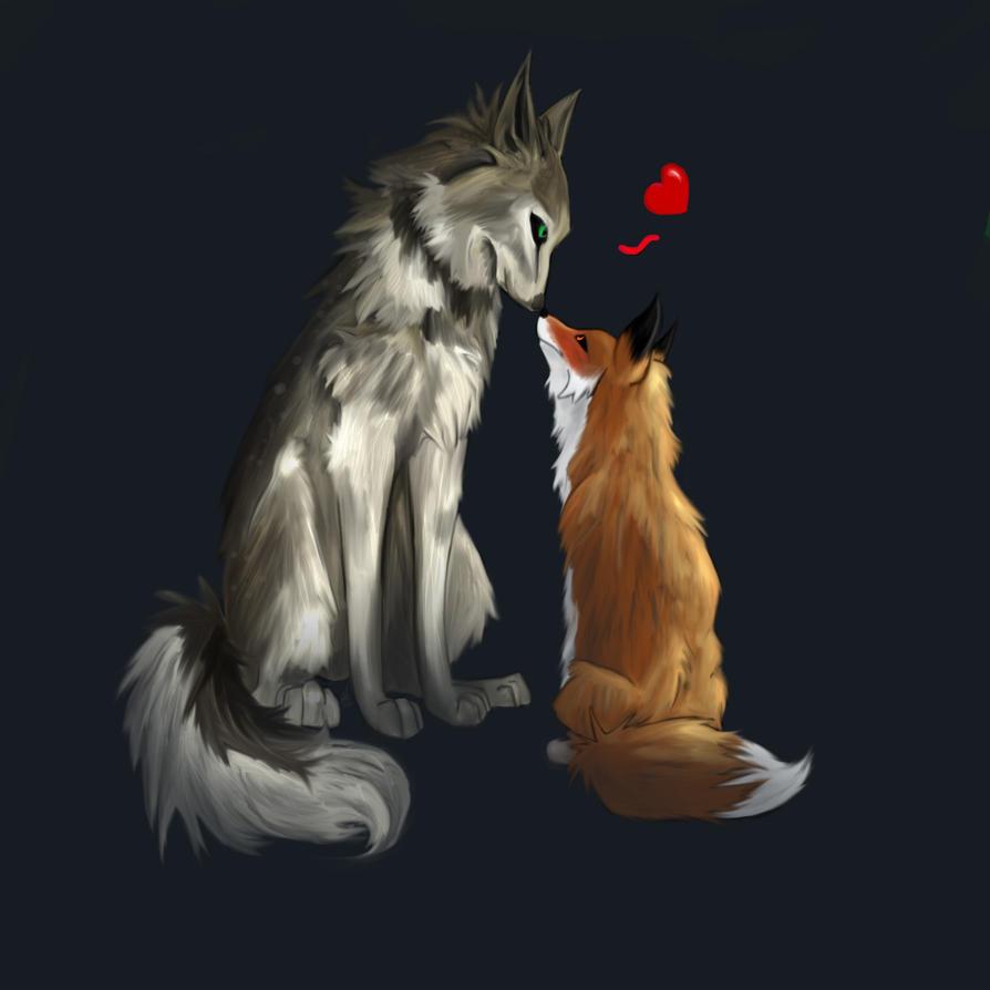 Wolf And Fox by DecryptedDomain