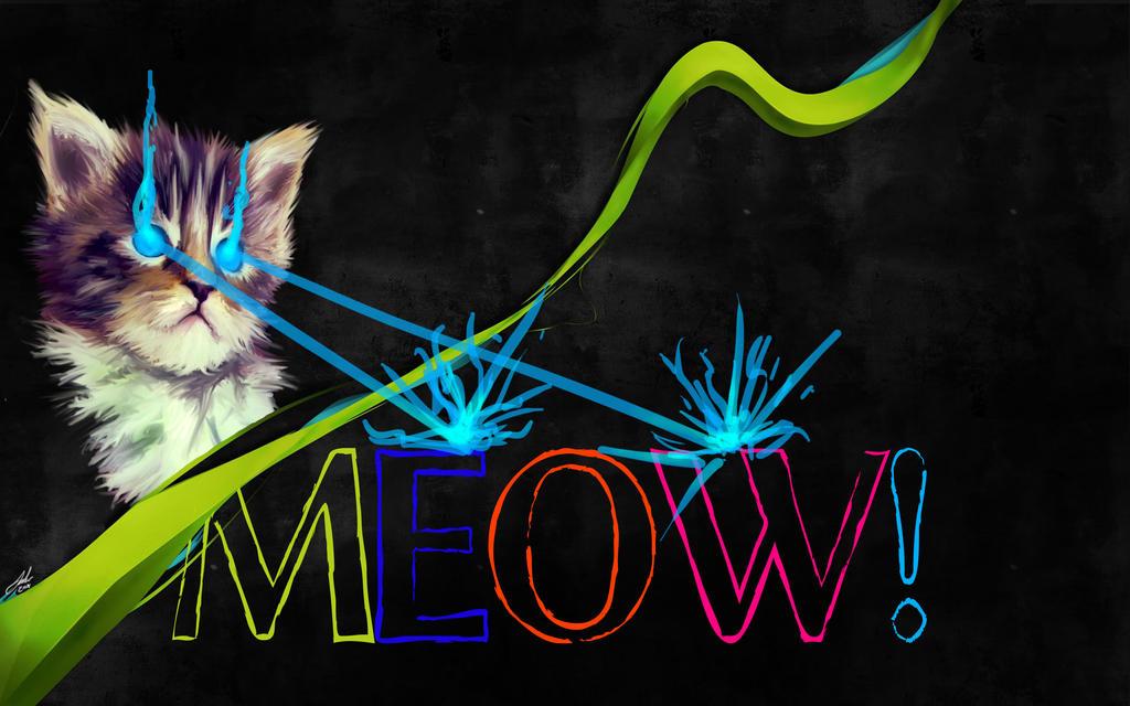 KITTY SAYS MEOW by DecryptedDomain