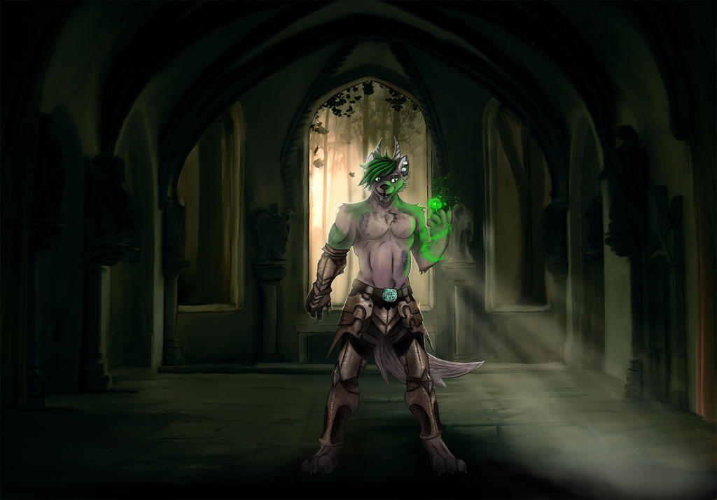 Vaesothinas Knightmage by DecryptedDomain