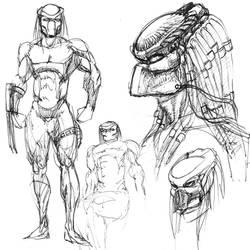 Predator Quick Sketches