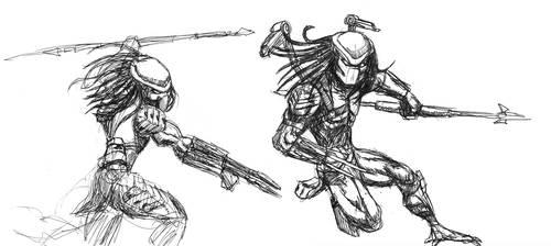 Predators in motion by ButtZilla