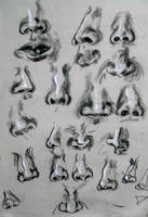 Nose Study by ButtZilla