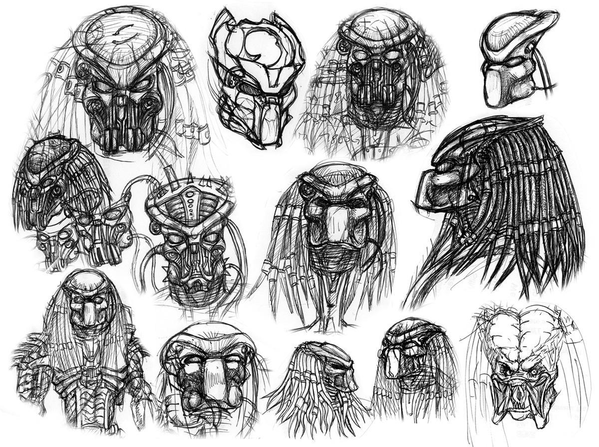 Predator Portraits III by ButtZilla
