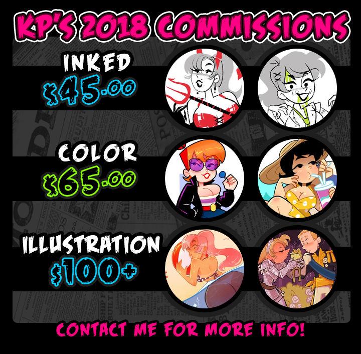 K.P.'s Commissions - 2018