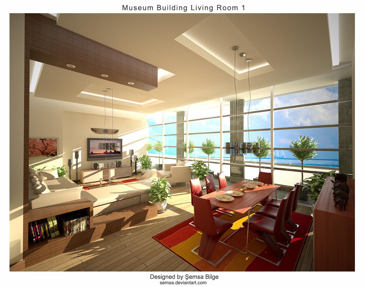 M.Build.Living Room 1 by Semsa