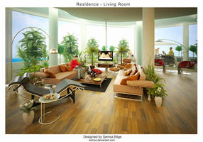 R-Living Room by Semsa