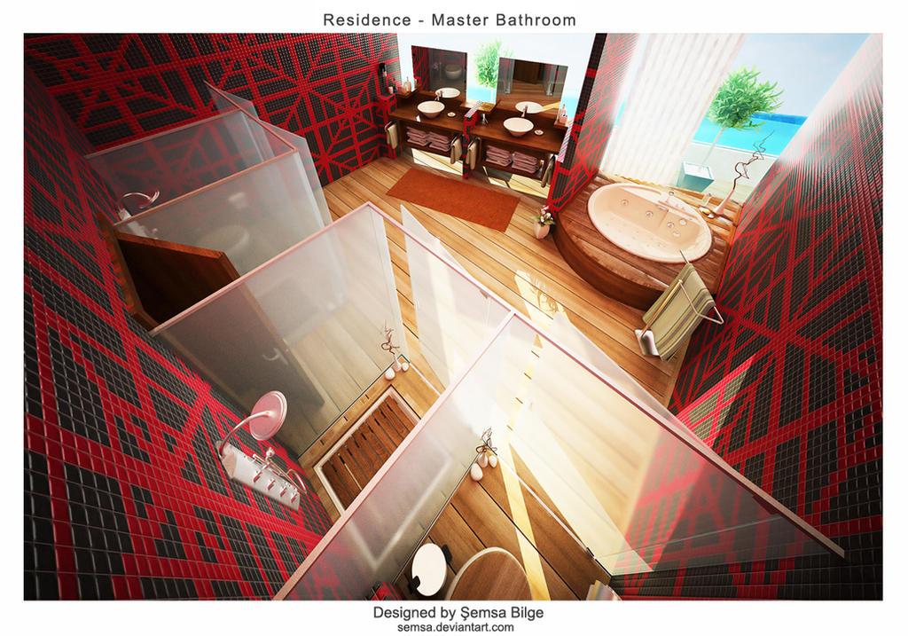 Casa: Kazuka R2_Master_Bathroom_4_by_Semsa